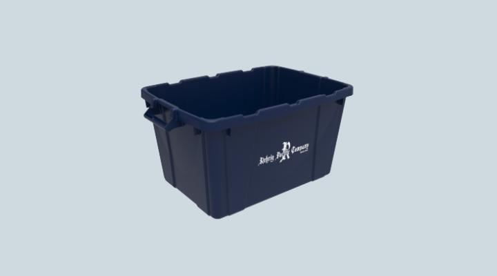 18 Gallon Huskylite Recycling Bin Open Handle