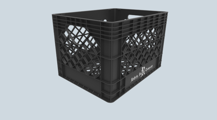 20 Qt. Dairy Crate