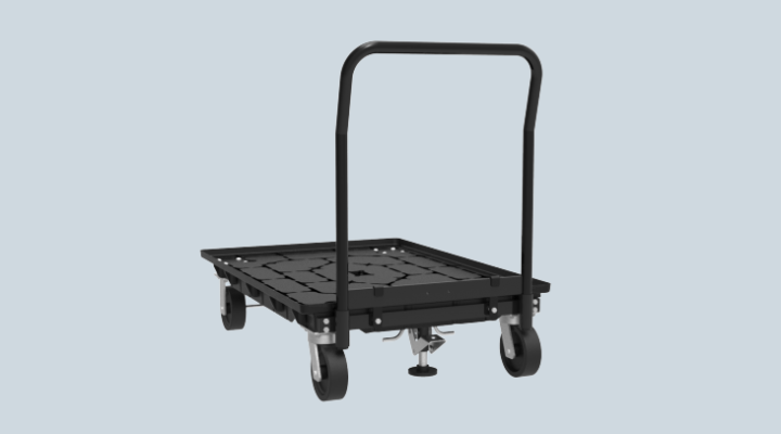 30x41 Fusion Delivery Cart with Foot Brake