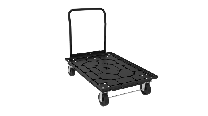 30 x 42 Fusion Delivery Cart with Foot Brake