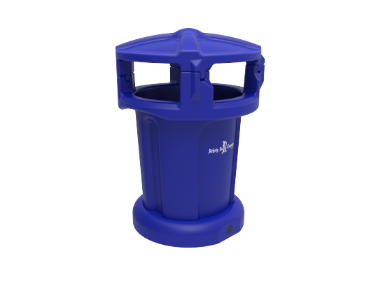 75 Gallon Public Litter Container