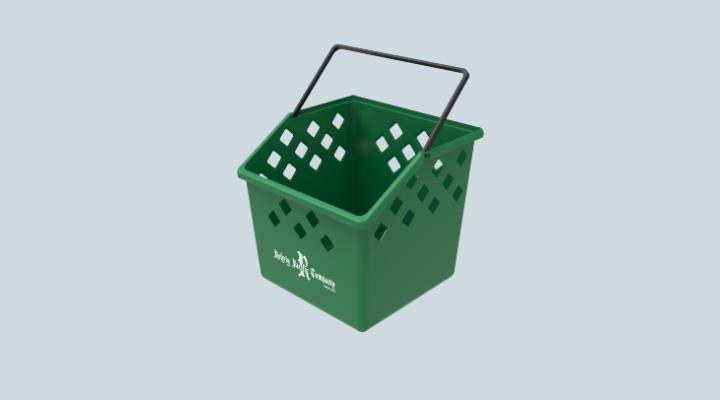 6 Gallon Apartment Recycling Bin