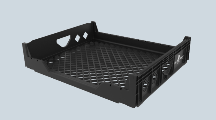 HBT-23 HDPE Bread Tray