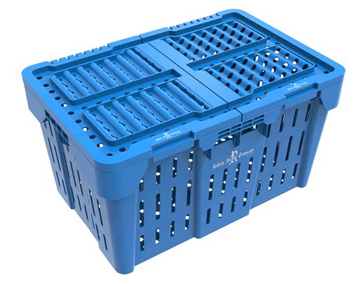 Lidded Field Crate